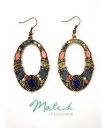 Vintage retro indian style earring
